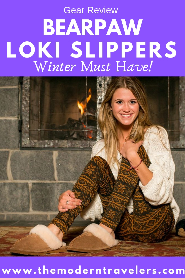 Review: BEARPAW Loki Slippers, Affordable Shearling Slippers, Winter Must Have