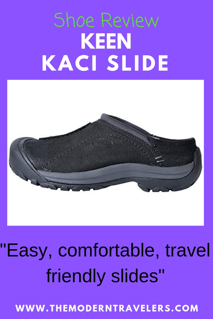 KEEN Kaci Slide Review, Travel Friendly Slip On Shoe