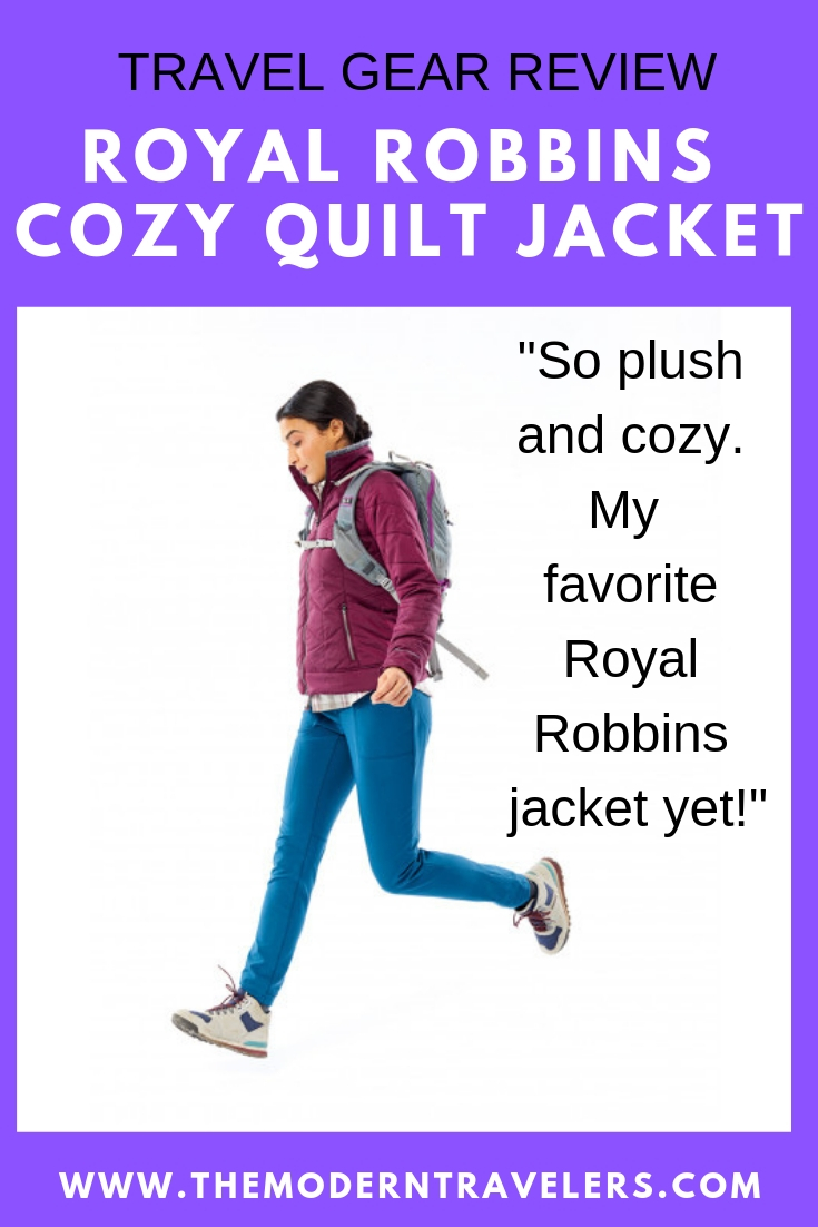 ROYAL ROBBINS COZY QUILT JACKET Review, Travel Friendly Jacket, Furry Lining Jacket