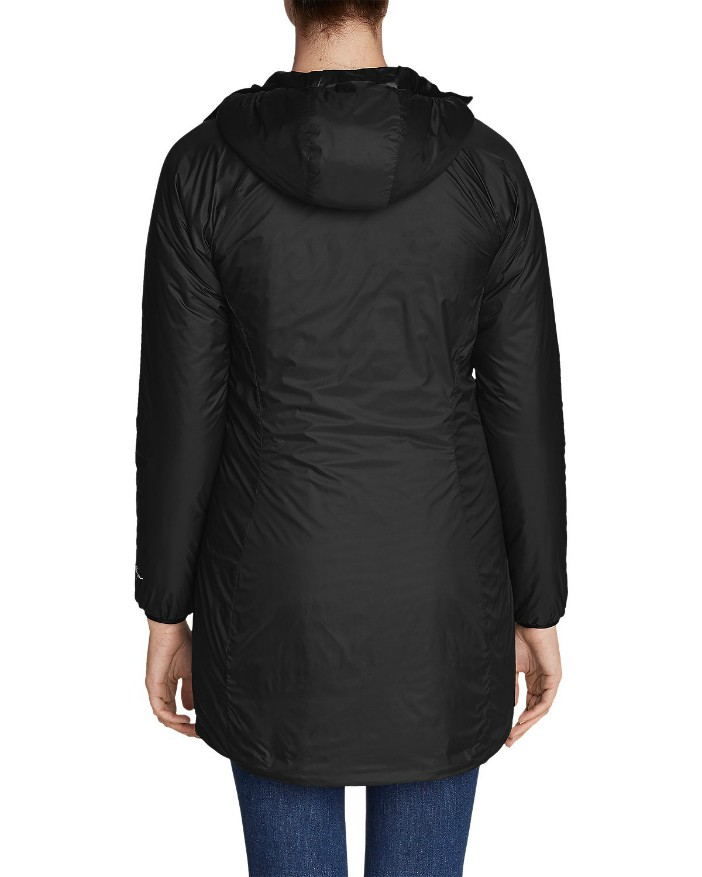 Eddie Bauer Evertherm Down Parka Review, Non-Puffy Down Parka, Best Winter Coats, Best Down Coat for Travel