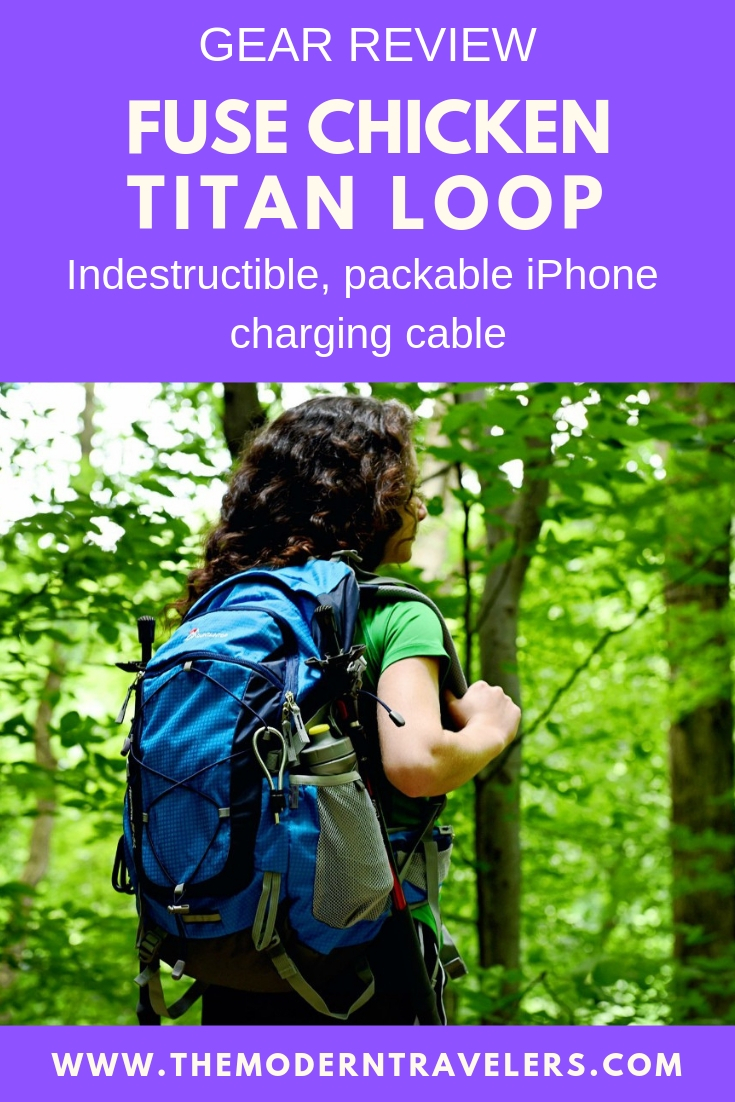Gear Review: Fuse Chicken Titan Loop, Indestructible iPhone Charging Cable, Travel Charging Cable