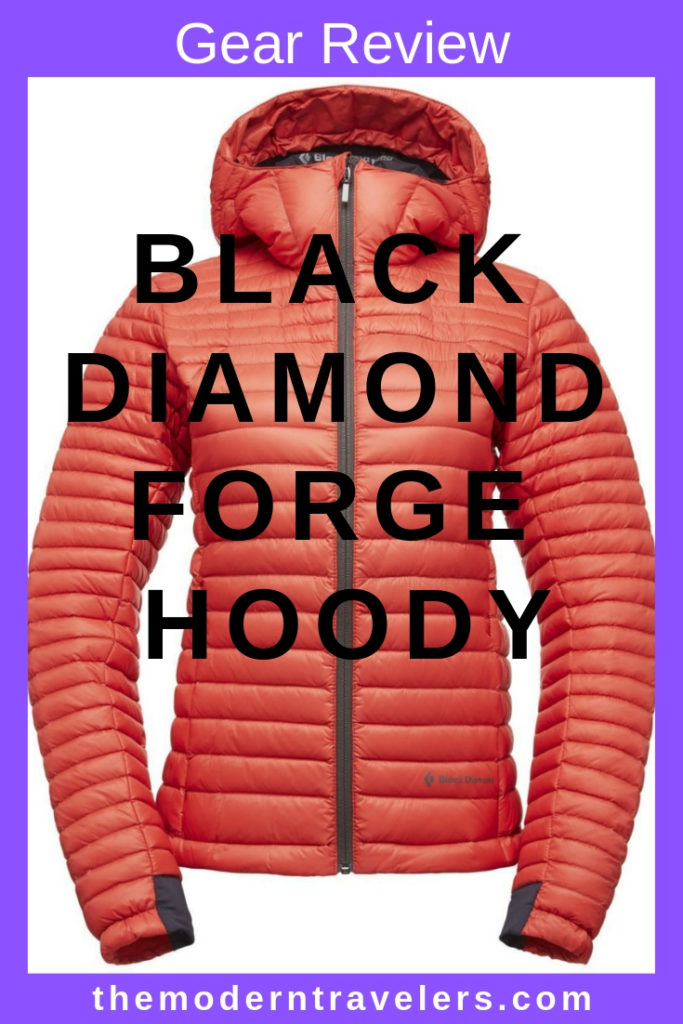 Black Diamond Forge Hoody Review, Packable Down Jacket for Travel, Travel Friendly Down Coat