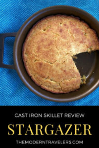 Stargazer Cast Iron Skillet Review. This skillet is a modern take on an old classic, and a must-have for any kitchen. It's as beautiful as it is functional. Machined Cast Iron Skillet. Non Toxic Non Stick Cookware, Best Value in Cast Iron Skillets.