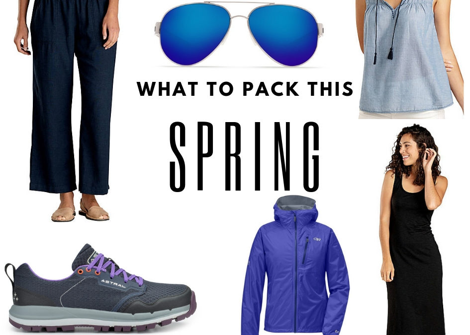 6 Awesome Things to Pack for Spring Travel