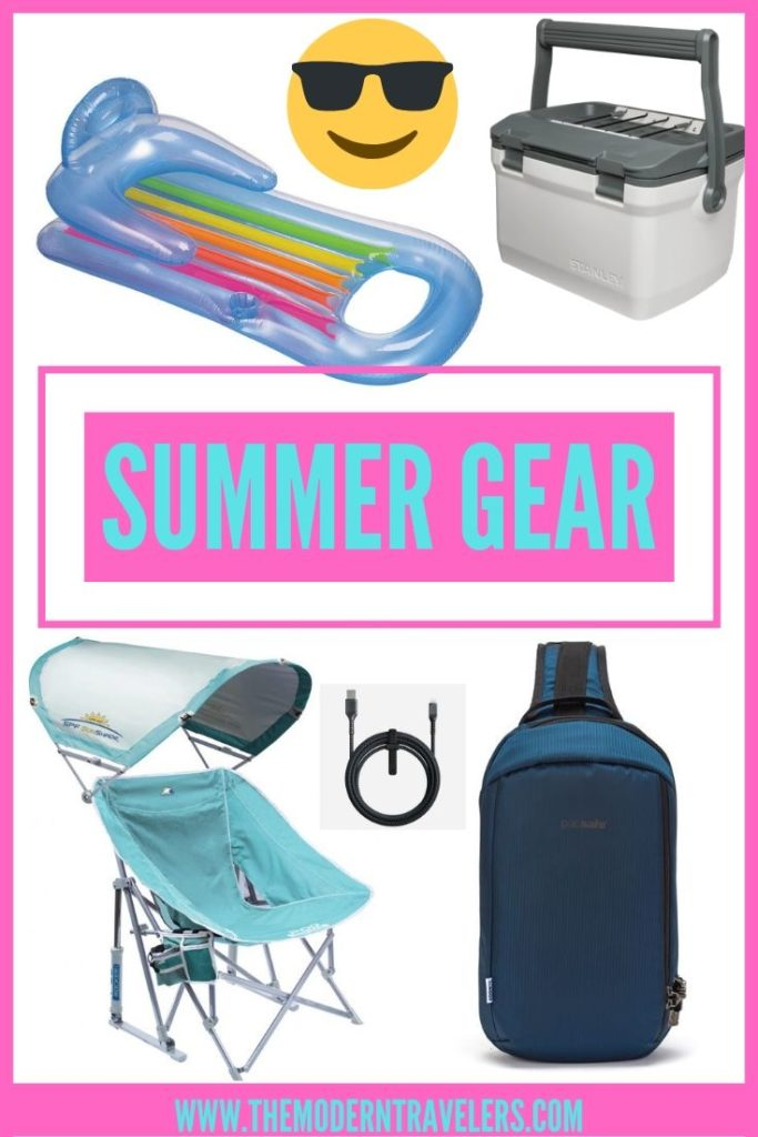Summertime Gear, Best Gear for Summer, Beach Gear