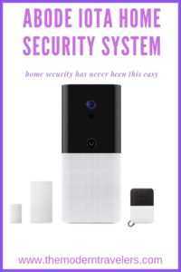 Abode iota Home Security System, Home Security for Travelers, Easy Home Security System, Best Security System for Monitoring Remotely