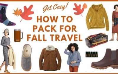 How to Pack for Fall Travel: Autumn Favorites