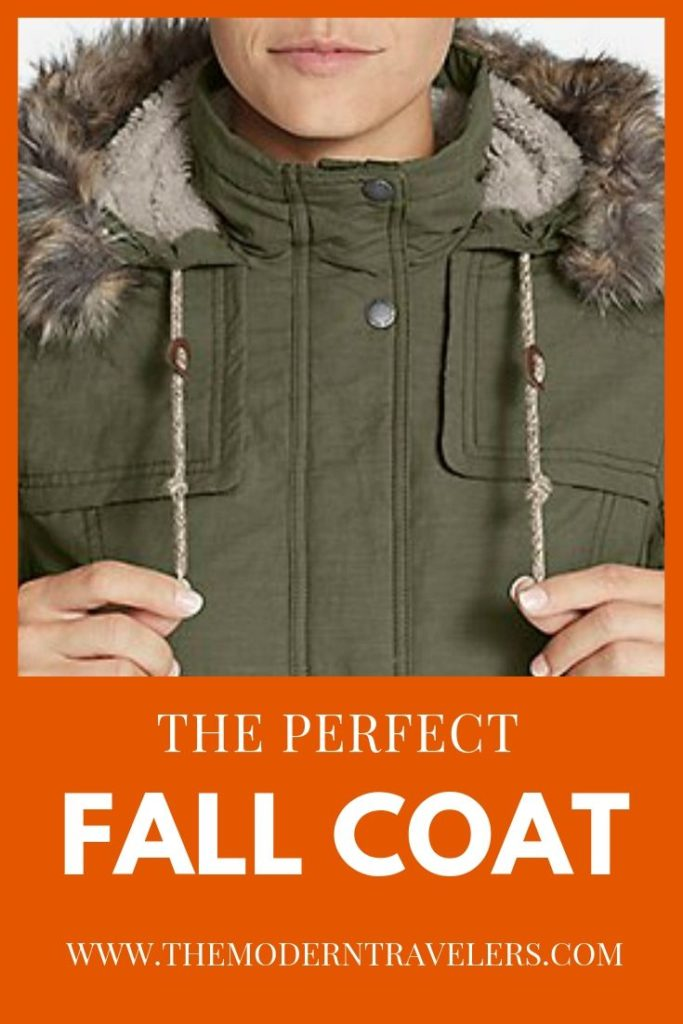 Eddie Bauer Ladder Creek Parka, Eddie Bauer Ladder Creek High Pile Parka Review, Best Coat for Fall Travel, Perfect Fall Jacket