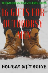 16 Outdoorsy Holiday Gifts for Men Ultimate Holiday Gift Guide for Modern Travelers, Best Gifts for Travelers and Outdoorsy Types, 16 Gift Ideas for Travelers, Christmas Gifts for Travelers