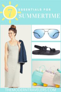 what to pack this summer, summertime essentials