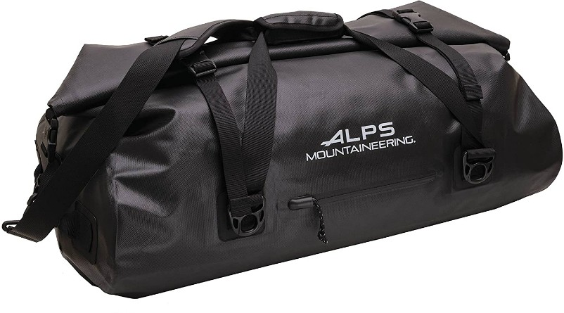 Alps Monsoon Duffle review, Acorn Camp Slippers, camping supplies & outdoorsy gear, best new gear for summer, summertime camping gear