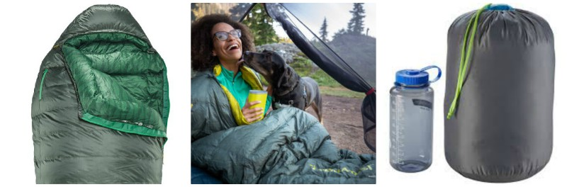 Therm-a-Rest Questar Sleepingbag review, best sleeping bag for summer, camping supplies & outdoorsy gear, best new gear for summer, summertime camping gear