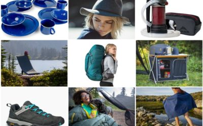 Summer Camping Supplies & Outdoorsy Gear
