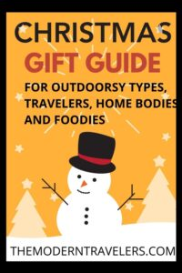 Holiday Gift Guide 2020, Best Gifts for Outdoorsy Types, Best Gifts for Foodies, Best Gifts for Home Bodies, Best Gifts for Travelers